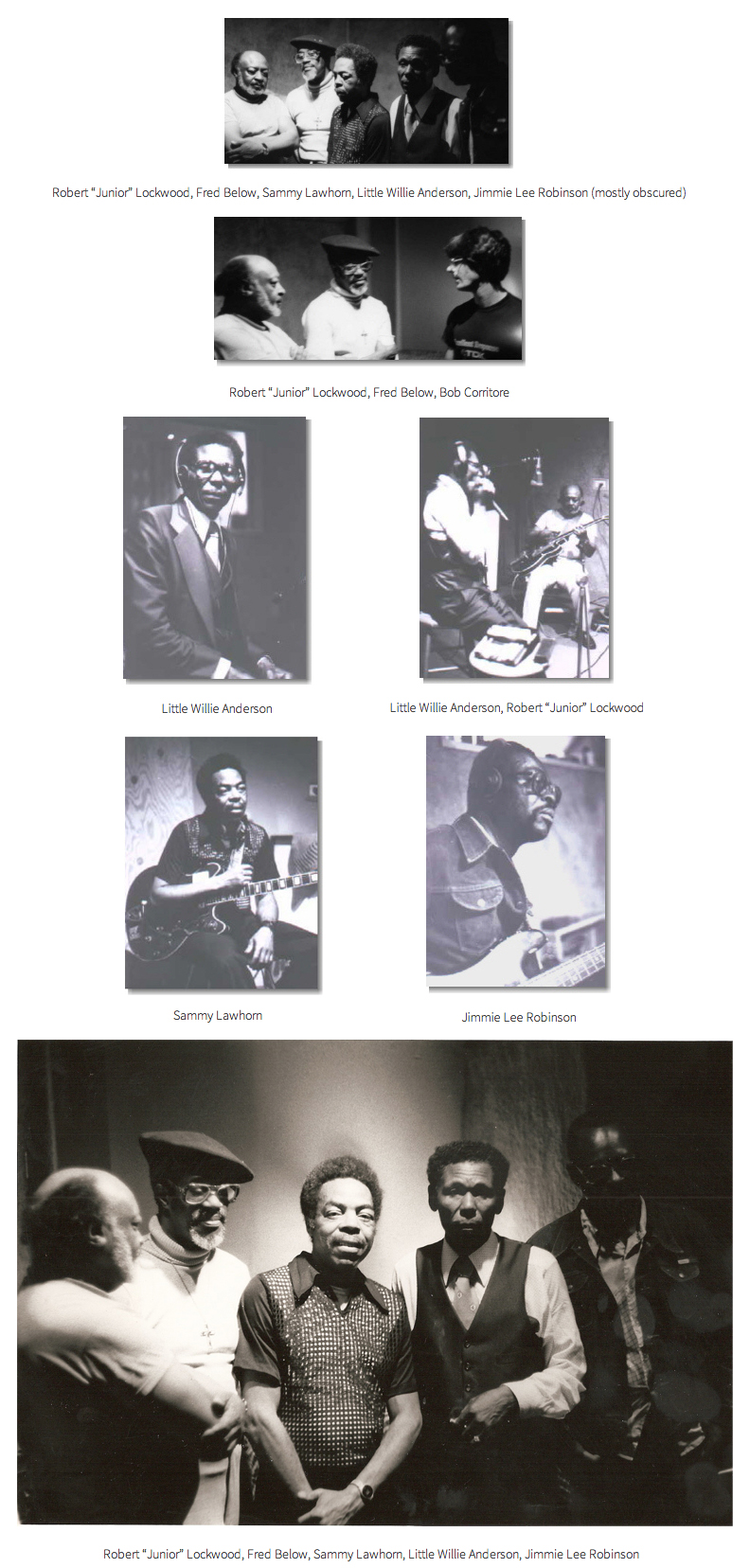 Little Willie Anderson Recording Session