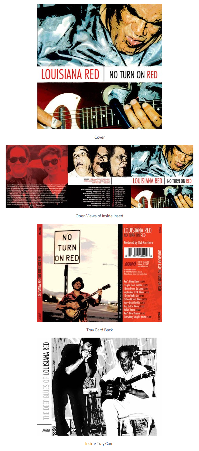 Louisiana Red No Turn Red Artwork