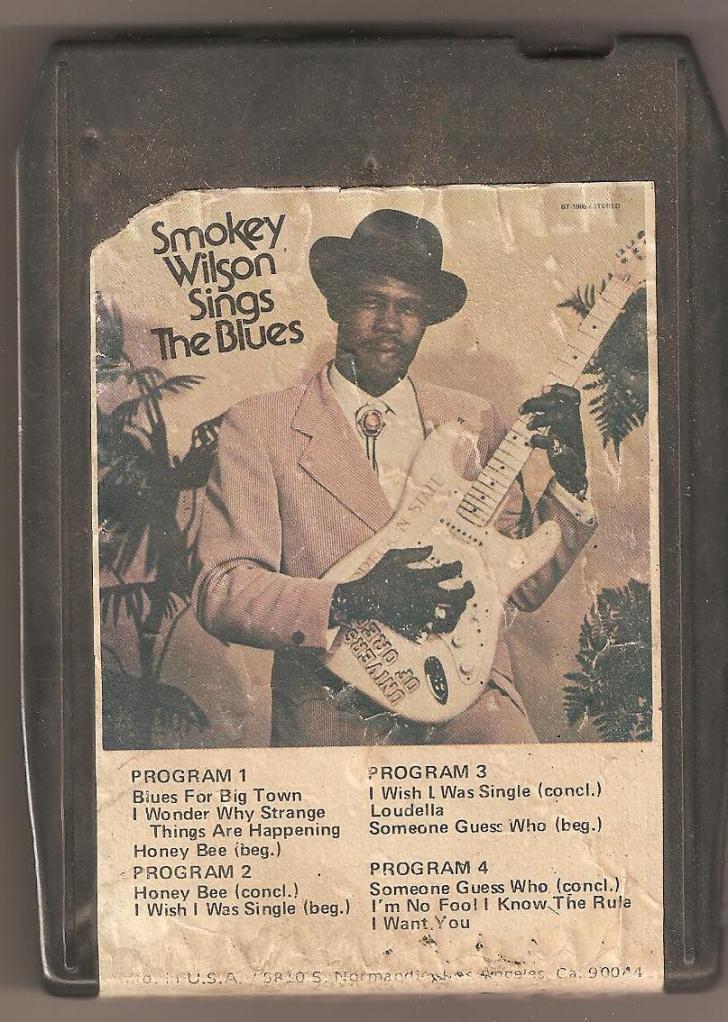 SmokeyWilsonSingsTheBlues8Track