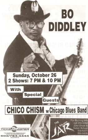 Bo Diddley Jar Flier