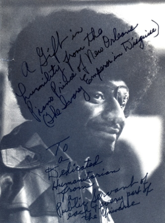 James Booker Portrait