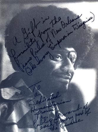 James Booker Portrait