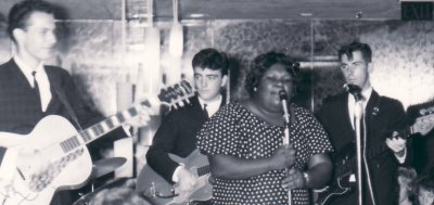 Johnnie Mae Brown With Mike Condello