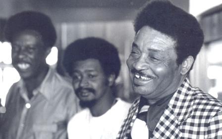 L Fulson ,Paul Senegal ,Cleveland Chenier