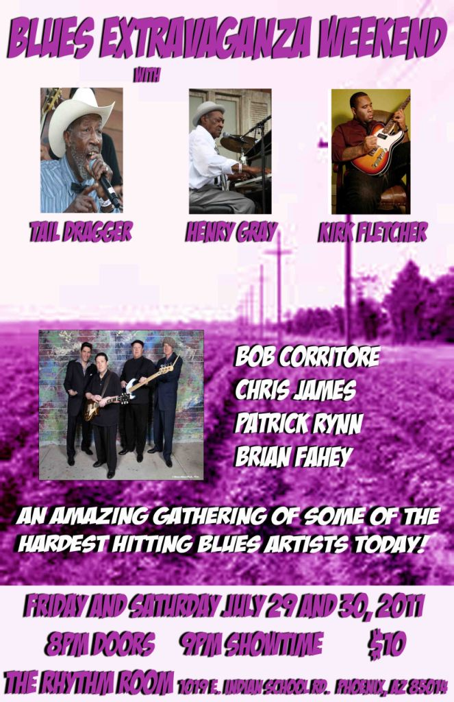 Blues Weekend Extravaganza July 29 and 30