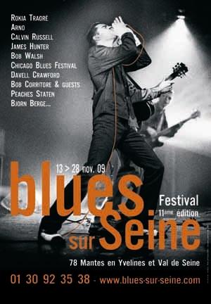 BluesSurSeinePoster