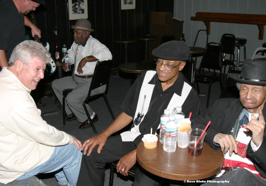 George Thomas, Hubert Sumlin, Chico Chism