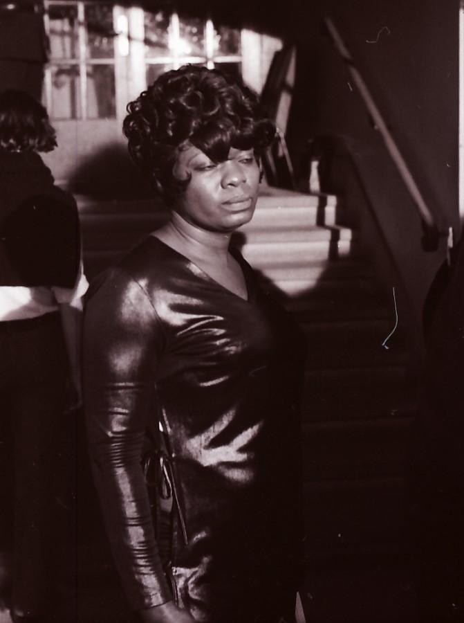 Koko Taylor backstage